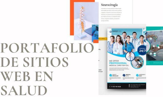 Portafolio de Sitios web en Salud