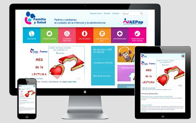 Sitios web en salud