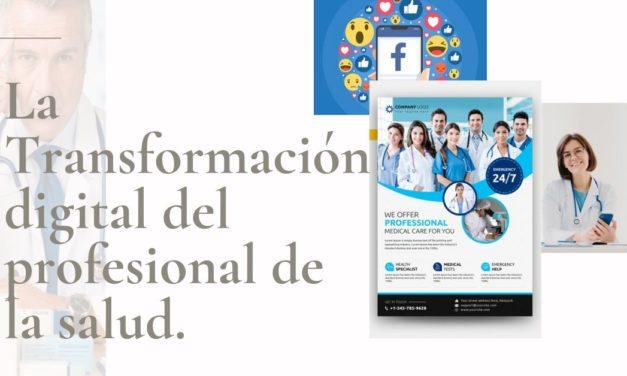 La Transformación digital del profesional de la salud